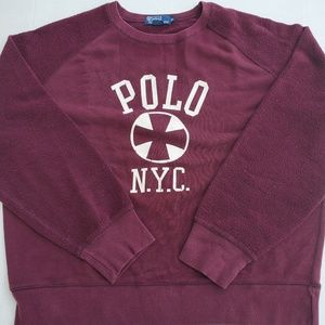 Polo Ralph Lauren NYC Crewneck Sweaters Pullover